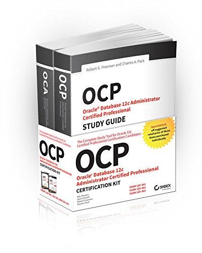 OCP Oracle Certified Professional on Oracle 12c Certification Kit: Thomas, Biju; Powell, Gavin; ...