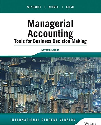 9781118957738: Managerial Accounting: Tools for Business Decision Making