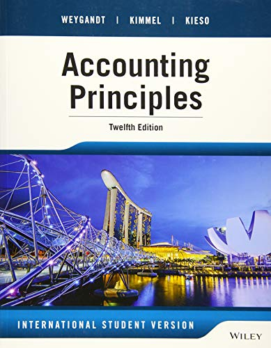 9781118959749: Accounting Principles, 12th Edition International Student Version