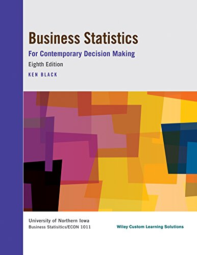 9781118960431: Business Statistics for Contemporary Decision Making