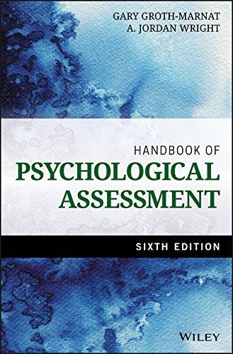 9781118960646: Handbook of Psychological Assessment