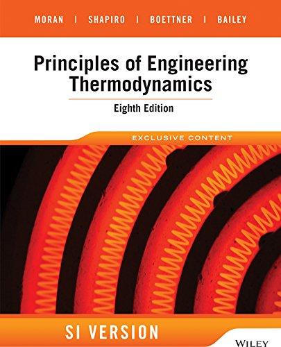 Principles of Engineering Thermodynamics: SI Version (Paperback): Michael J. Moran, Howard N. ...