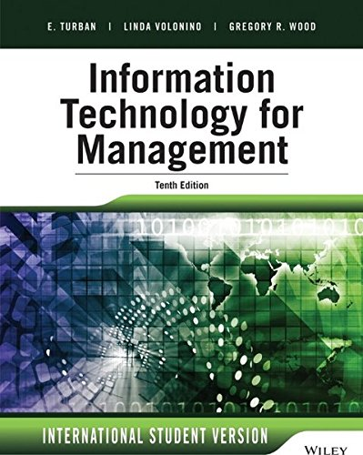 9781118961261: Information Technology for Management: Advancing Sustainable, Profitable Business Growth