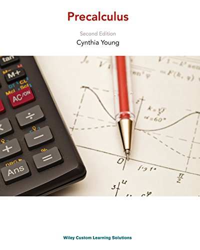 Precalculus 2nd Edition Cynthia Young: Cynthia Young