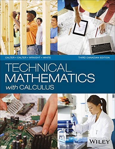 9781118962145: Technical Mathematics with Calculus