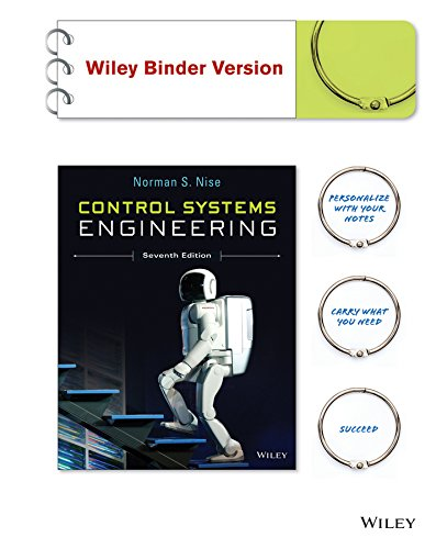 9781118963579: Control Systems Engineering, Seventh Edition Binder Ready Version