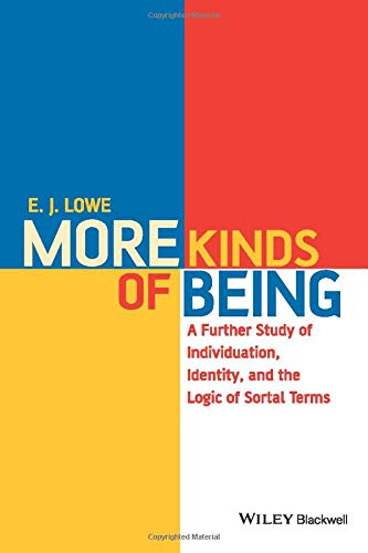 9781118963869: More Kinds of Being: A Further Study of Individuation, Identity, and the Logic of Sortal Terms