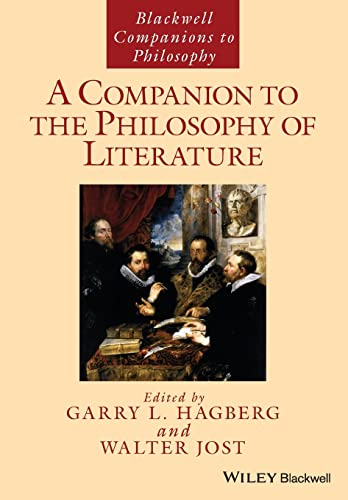 9781118963876: A Companion to the Philosophy of Literature (Blackwell Companions to Philosophy)