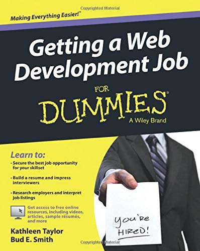 9781118967768: Getting a Web Development Job For Dummies