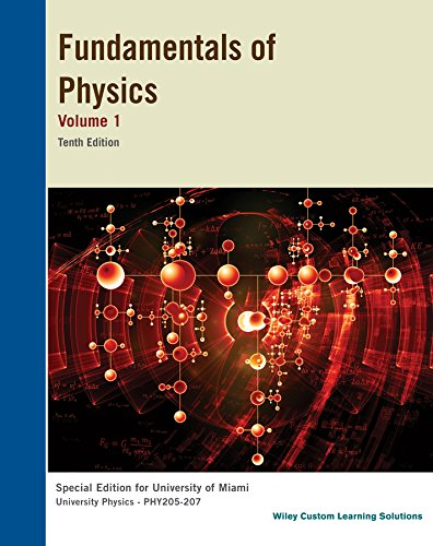 HALLIDAY & RESNICK FUNDAMENTALS OF PHYSICS 10TH: WALKER
