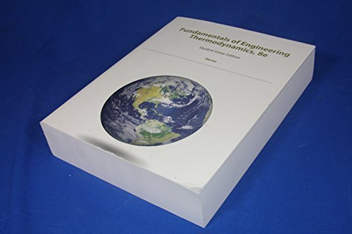 9781118974865: Fundamentals of Engineering Thermodynamics,8th ed.