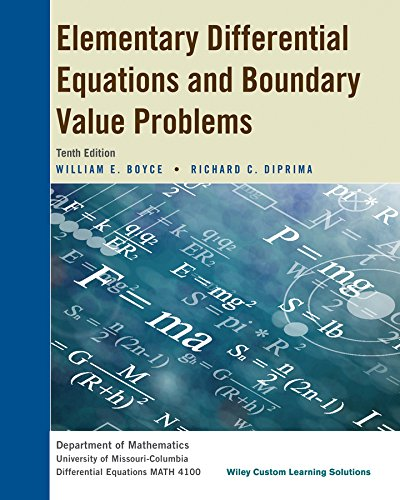 9781118975435: Elementary Differential Equations and Boundary Value Problems