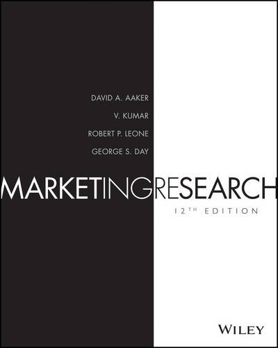 9781118977927: Marketing Research