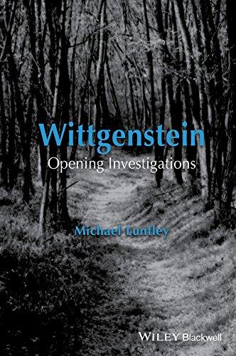 9781118978399: Wittgenstein: Opening Investigations