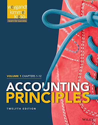 9781118978757: Accounting Principles, Volume 1: Chapters 1 - 12