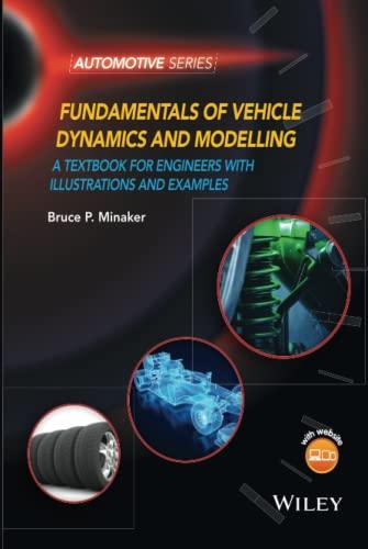 9781118980095: Minaker, B: Fundamentals of Vehicle Dynamics and Modelling (Automotive Series)