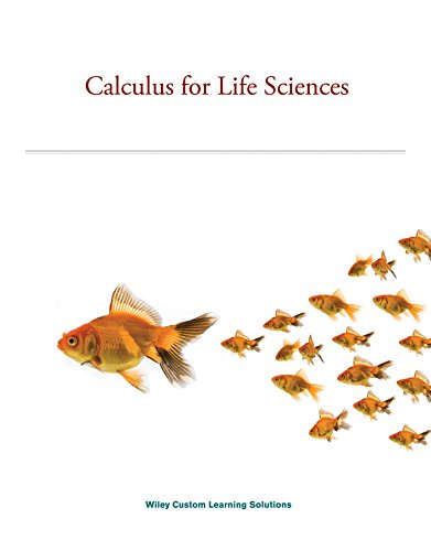 9781118984666: Calculus for Life Sciences (Custom)-2014 edition