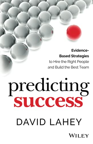 Predicting Success: Lahey, David
