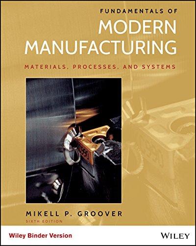 9781118987643: Fundamentals of Modern Manufacturing