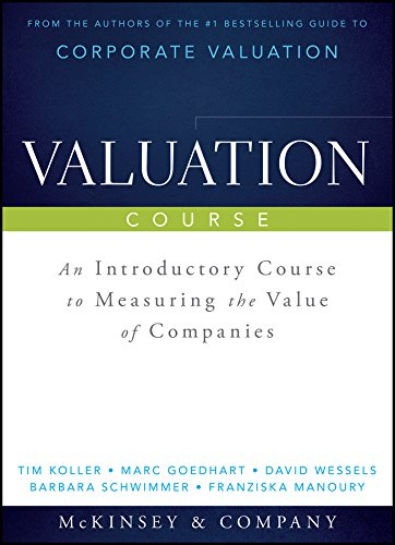 9781118988268: Valuation Course (Wiley Finance)