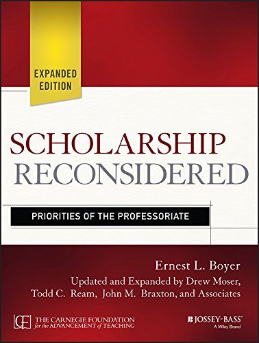 Scholarship Reconsidered: Priorities of the Professoriate: Boyer, Ernest L.;