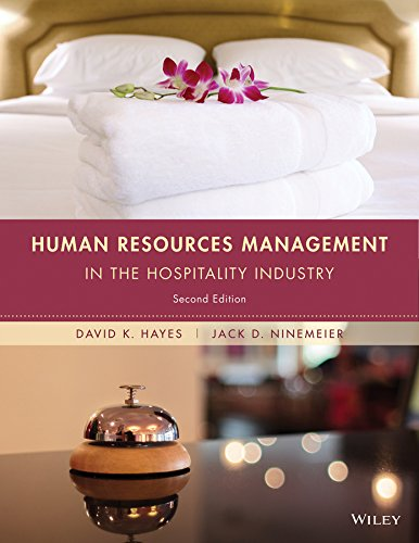 9781118988503: Human Resources Management in the Hospitality Industry