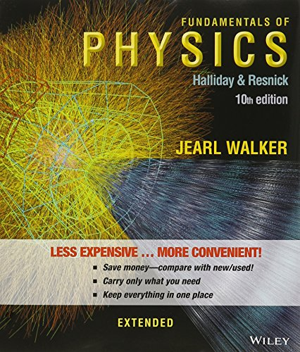 9781118989715: Fundamentals of Physics Extended, 10th Edition Binder Ready Version with WebAssign 1 Semester and 2 Semester Set