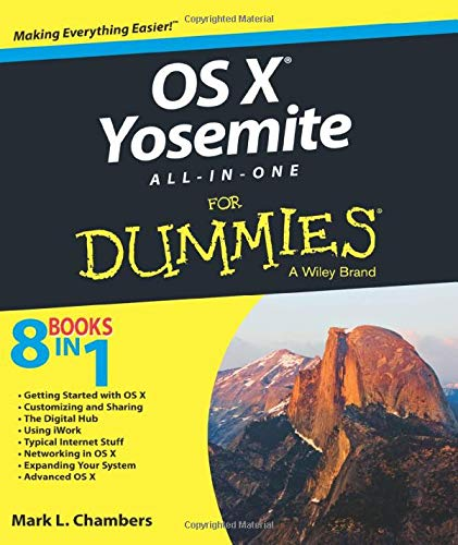 9781118990896: OS X Yosemite All-in-One For Dummies