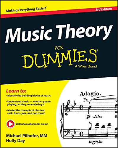 9781118990940: Music Theory For Dummies