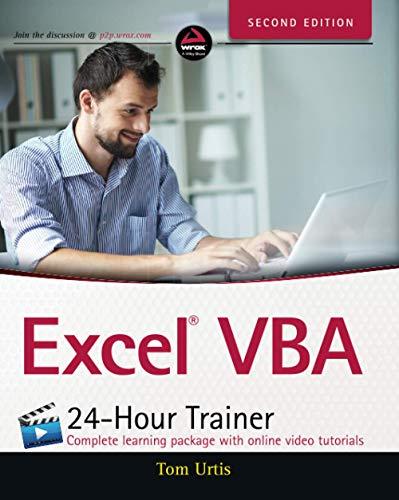 9781118991374: Excel VBA 24-Hour Trainer