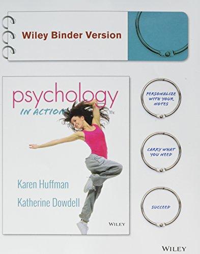 Psychology in Action: Huffman, Karen