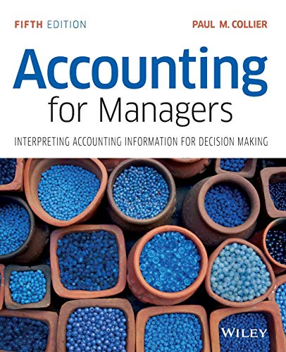 9781119002949: Accounting for Managers