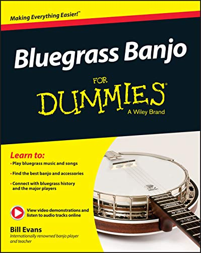 9781119004301: Bluegrass Banjo For Dummies