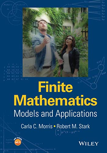9781119015505: Finite Mathematics: Models and Applications