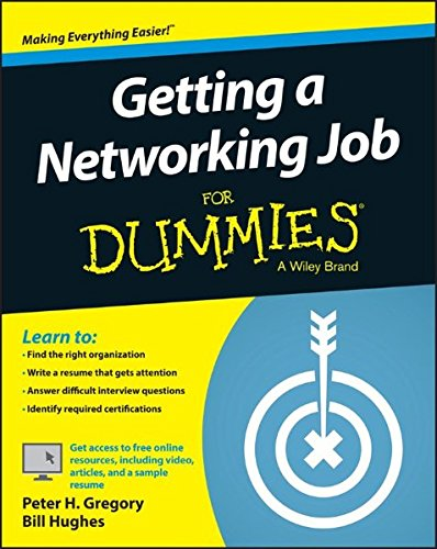 9781119015949: Getting a Networking Job For Dummies
