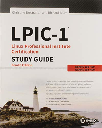9781119021186: LPIC-1 Linux Professional Institute Certification Study Guide: Exam 101-400 and Exam 102-400