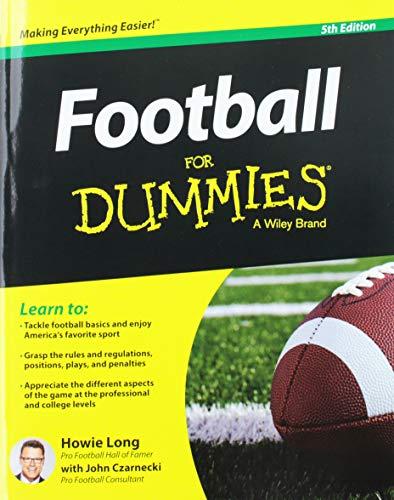 9781119022633: Football For Dummies