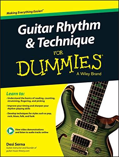 Guitar Rhythm Technique for Dummies: Book +: Desi R. Serna,