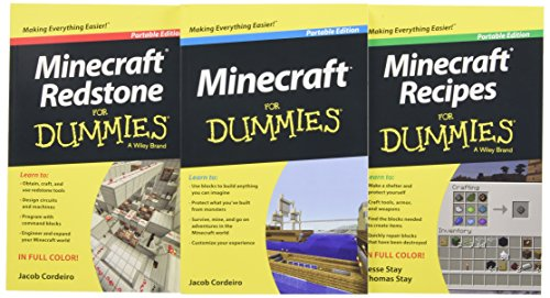 9781119024934: Minecraft For Dummies Collection, 3-Book Bundle (For Dummies (Computer/Tech))