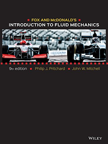 9781119031895: Fox and McDonald's Introduction to Fluid Mechanics 9e + WileyPLUS Registration Card
