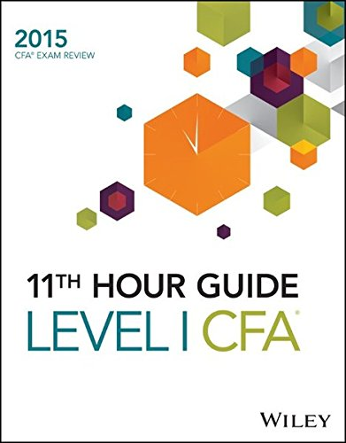 9781119032465: Wiley 11th Hour Guide for 2015 Level I CFA