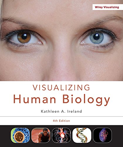 9781119033332: Visualizing Human Biology 4e + WileyPLUS Learning Space Registration Card