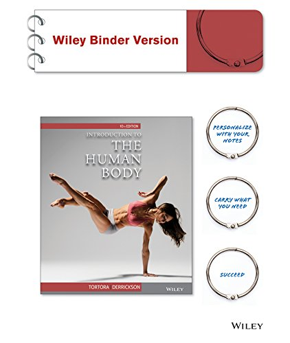 9781119036227: Introduction to the Human Body 10e Binder Ready Version + WileyPLUS Learning Space Registration Card