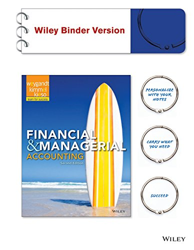 Financial & Managerial Accounting: Weygandt, Jerry J./