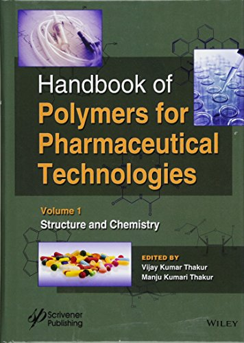 9781119041344: Handbook of Polymers for Pharmaceutical Technologies: Structure and Chemistry