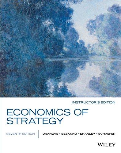 9781119042303: Economics of Strategy