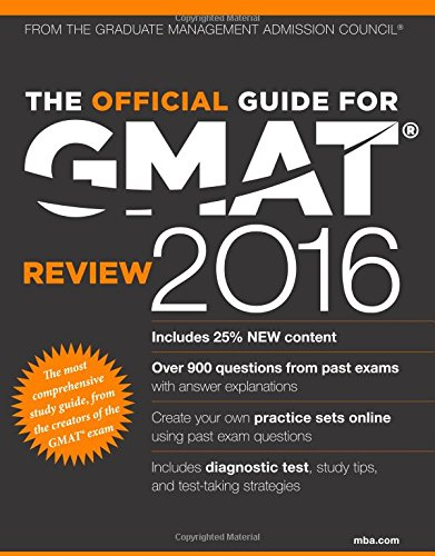 9781119042488: The Official Guide for GMAT Review 2016 with Online Question Bank and Exclusive Video