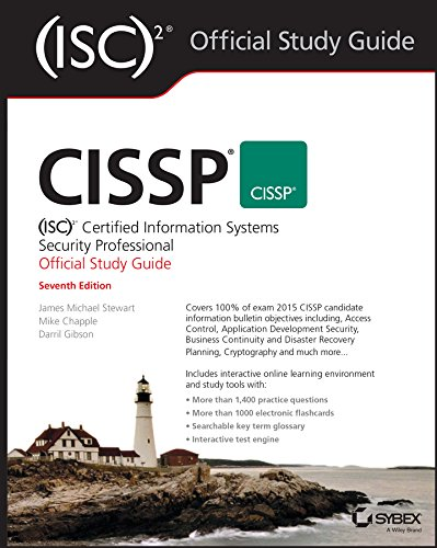 9781119042716: Cissp: Certified Information Systems Security Professional Study Guide, Seventh Edition