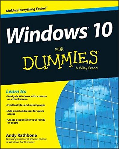 9781119049364: Windows 10 For Dummies