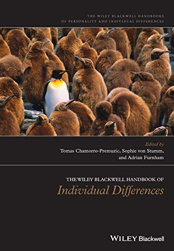 9781119050308: The Wiley-Blackwell Handbook of Individual Differences (HPIZ - Wiley-Blackwell Handbooks in Personality and Individual Differences)